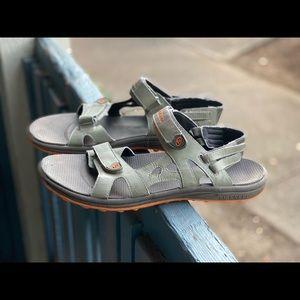 Merrell Men Cedrus Convertible Bungee Sandal Sz 12